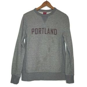 Merona Portland Sweater with Maroon Spell out